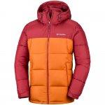 kurtka columbia pike lake hooded jacket m czerwono-pomarańczowa