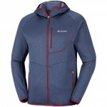 bluzka columbia drammen point™ hooded fleece dark mount