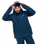 kurtka jack wolfskin exolight icy jacket m morski-niebieski