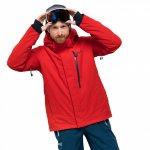 kurtka jack wolfskin exolight icy jacket m czerwona
