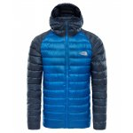 kurtka the north face trevail hoodie m granatowo-niebieska