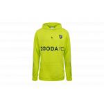 "bluza cleant x zgoda fc hoodie ""volt"" (clnt01)"