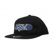 mitchell & ness team logo snapback magic (intl462-orlmag-blk)