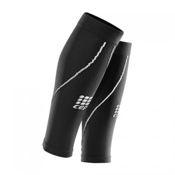 opaski kompresyjne cep progressive+ run calf sleeves 2.0 czarna
