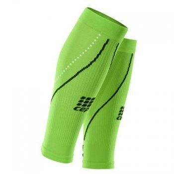 opaski kompresyjne cep progressive+ night run calf sleeves 2.0 zielone