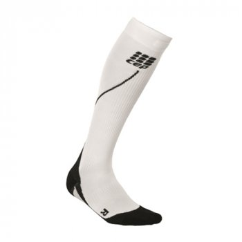 skarpety cep progressive+ run socks 2.0 m białe