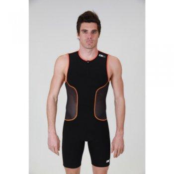 strój triathlonowy zerod isuit m blk/org/wht (zerod-21)