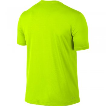 koszulka nike challenger ss m limonkowa