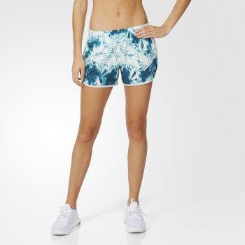 spodenki adidas m10 q3 shorts w niebiesko-białe