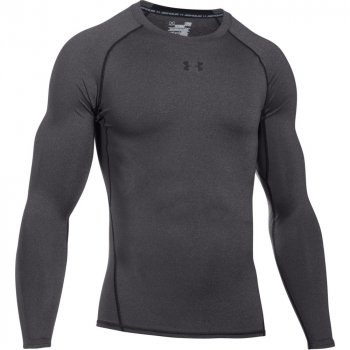 koszulka under armour heatgear armour compression longsleeve (1257471-090)