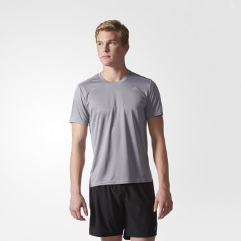 koszulka adidas response tee m szara