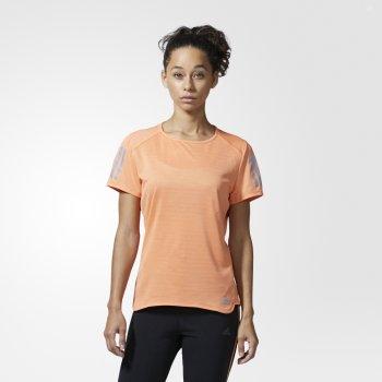 koszulka adidas response tee w pomarańczowa