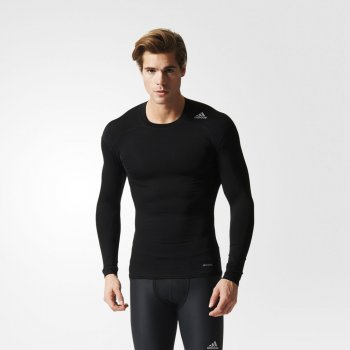 bluzka adidas techfit base czarna