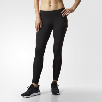 legginsy adidas response long tights w czarne