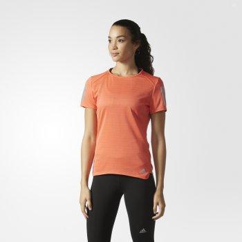 koszulka adidas response tee w koralowa