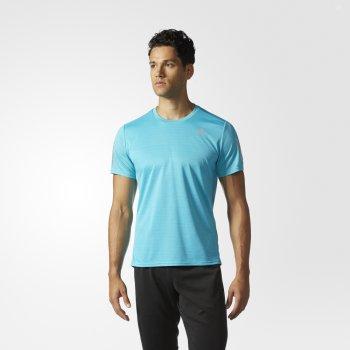 koszulka adidas response tee m błękitna