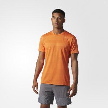 koszulka adidas supernova ss tee m pomarańczowa