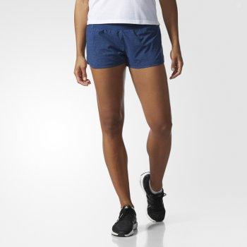 spodenki adidas supernova glide shorts w niebieskie
