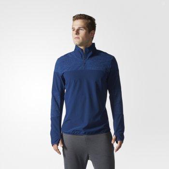 bluza adidas supernova storm sweatshirt m ciemno-niebieska