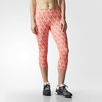 legginsy adidas supernova tights w różowe
