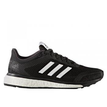 buty adidas response+ run w biało-czarne