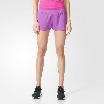 spodenki adidas grete shorts w fioletowe