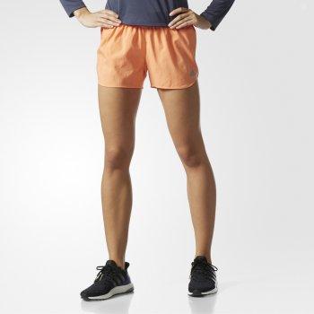spodenki adidas response shorts w pomarańczowe