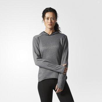 bluza adidas response astro hoodie w szara