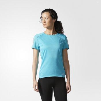 koszulka adidas response tee w niebieska