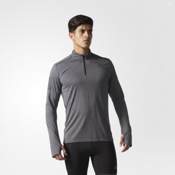 bluza adidas response sweatshirt m szara