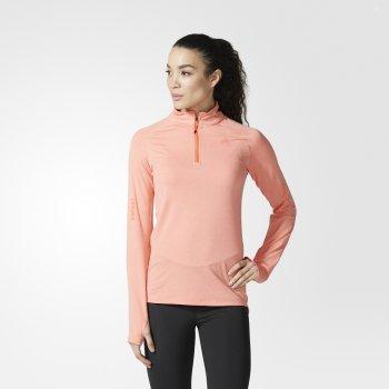 bluza adidas supernova sweatshirt w koralowo-różowa