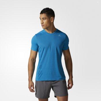 koszulka adidas supernova short sleeve tee m niebieska