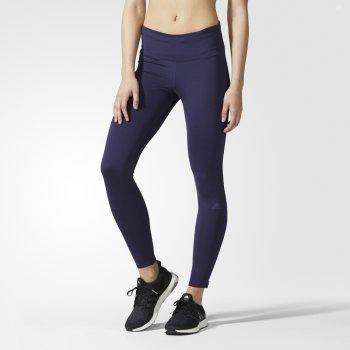 legginsy adidas supernova long tights w fioletowe