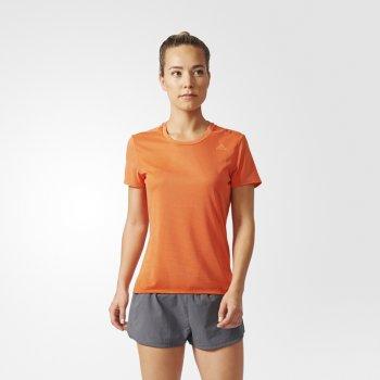 koszulka adidas supernova short sleeve tee w pomarańczowa