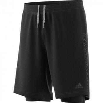 spodenki adidas supernova dual shorts m czarne