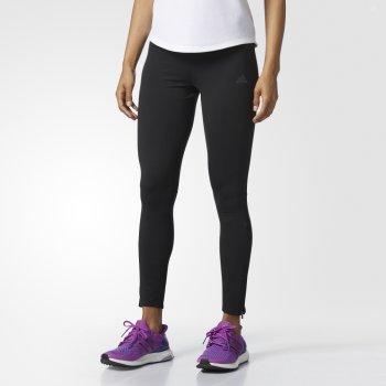 spodnie adidas response climawarm tights w czarne