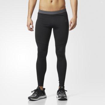legginsy adidas response climawarm tights m czarne