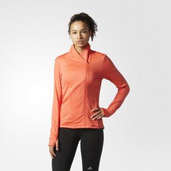 kurtka adidas supernova climaheat wrap jacket w koralowa