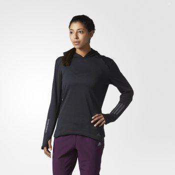 bluza adidas response climawarm hoodie w czarna