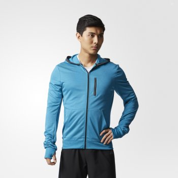 bluza adidas beyond the run m niebieska