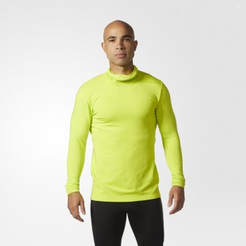 bluza adidas supernova tokyo tee m zielono-Żółta