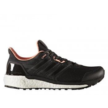 buty adidas supernova gore-tex w biało-czarne