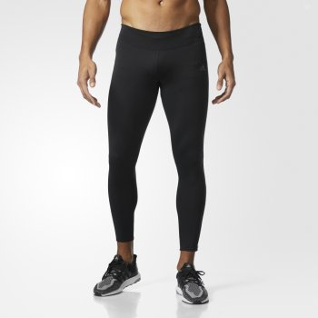 legginsy adidas supernova climaheat long tights m czarne
