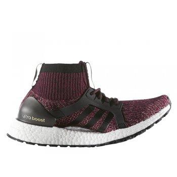 buty adidas ultraboost x all terrain w czarno-bordowe