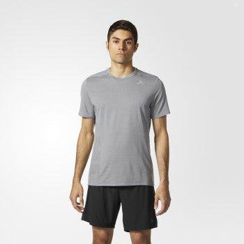 koszulka adidas supernova short sleeve tee m szara