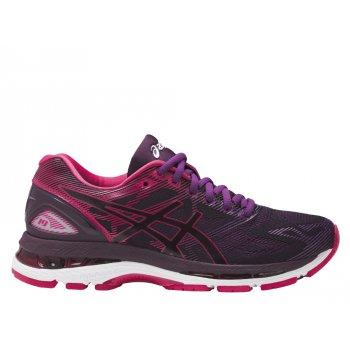 buty asics gel-nimbus 19 w różowo-fioletowe