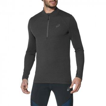 bluza asics 1/2 zip jersey m czarna