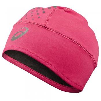 czapka asics winter beanie różowa