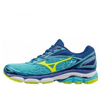 buty mizuno wave inspire 13 w błękitno-niebieskie