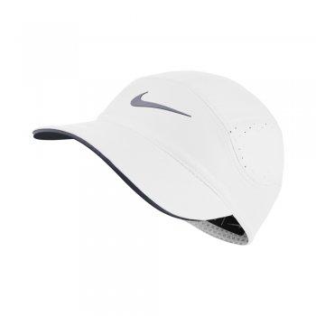 czapka z daszkiem nike aerobill cap w biała